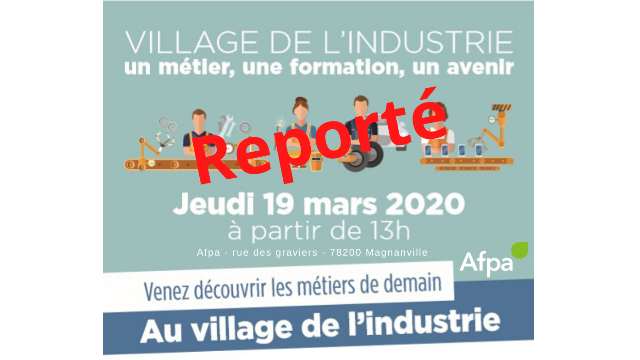 REPORT - 4ème édition du Village de l'Industrie
